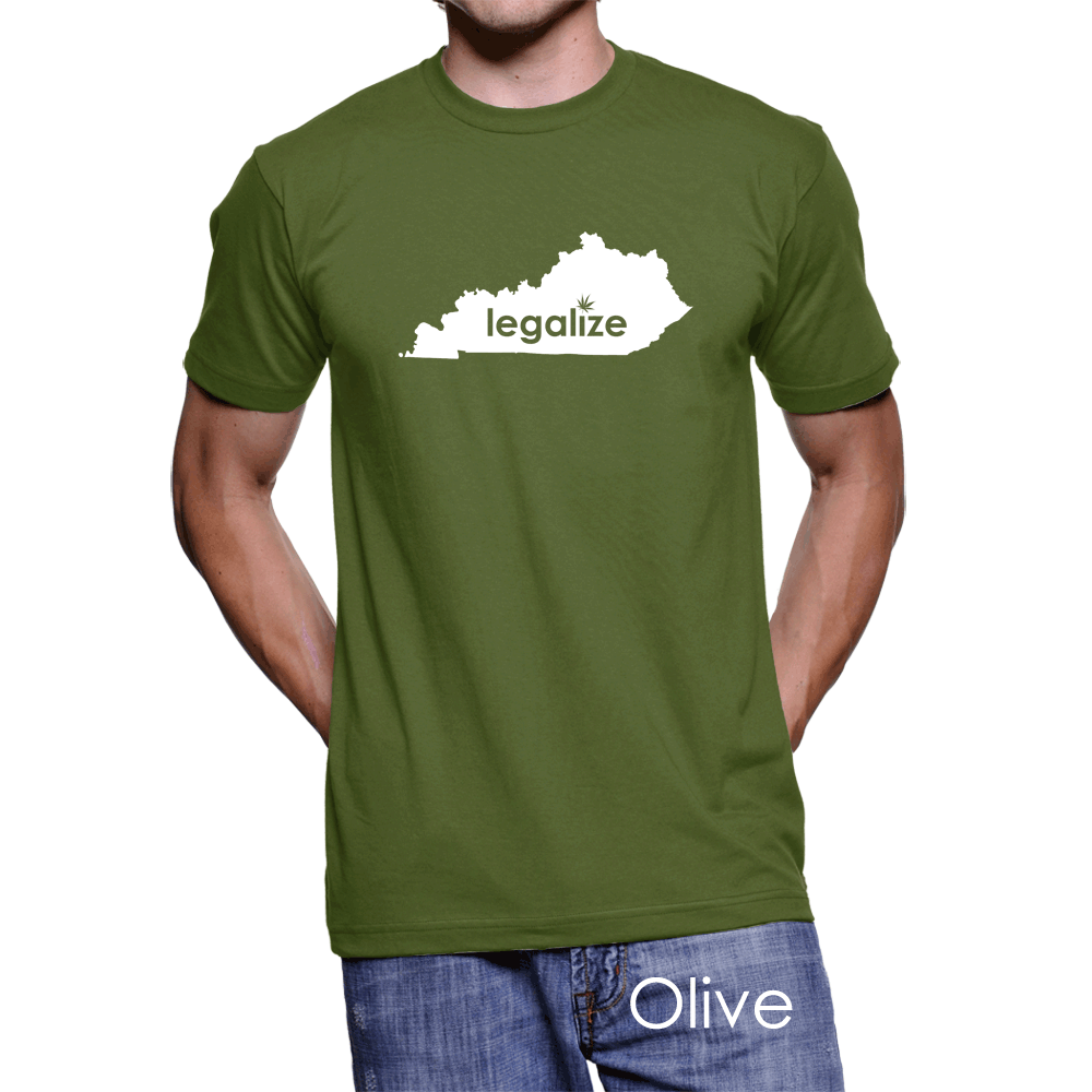 Kentucky Legalize Pot Men's T-Shirt