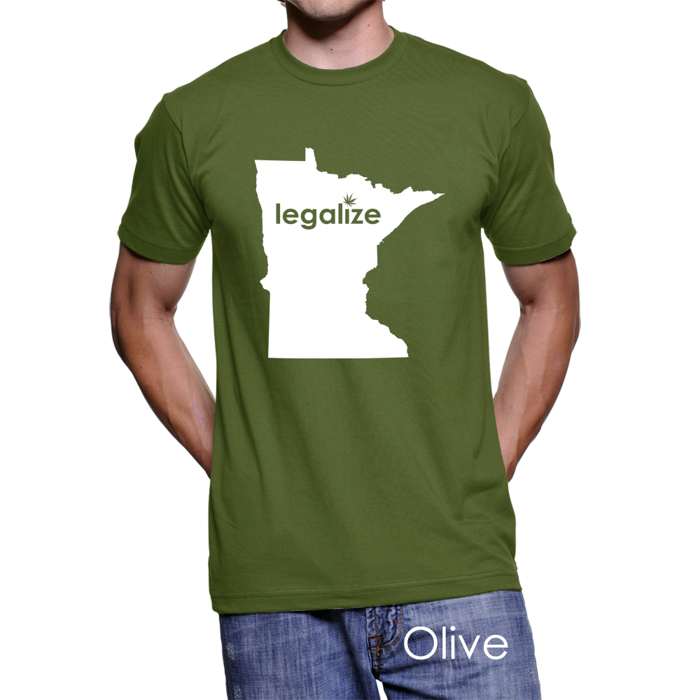 Minnesota Legalize Pot Men's T-Shirt