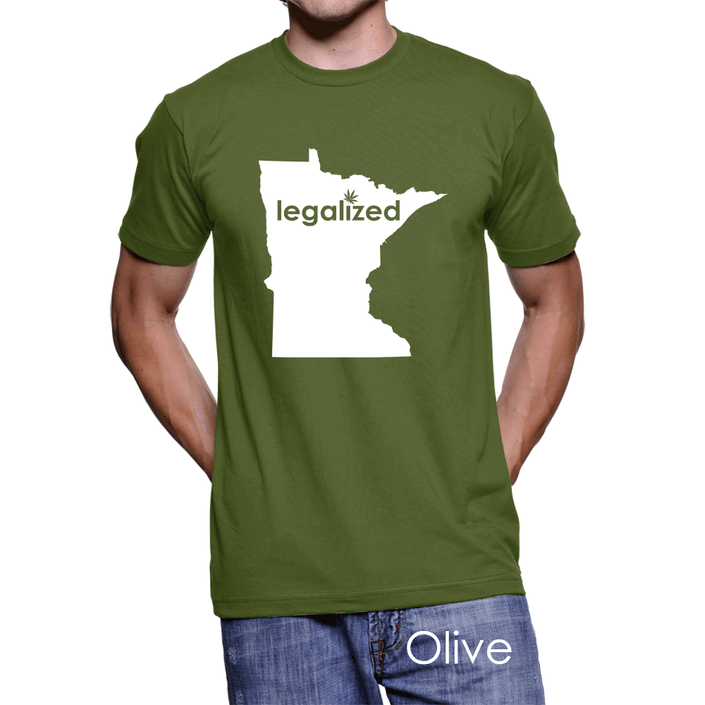 Minnesota Legalized Pot Men's T-Shirt