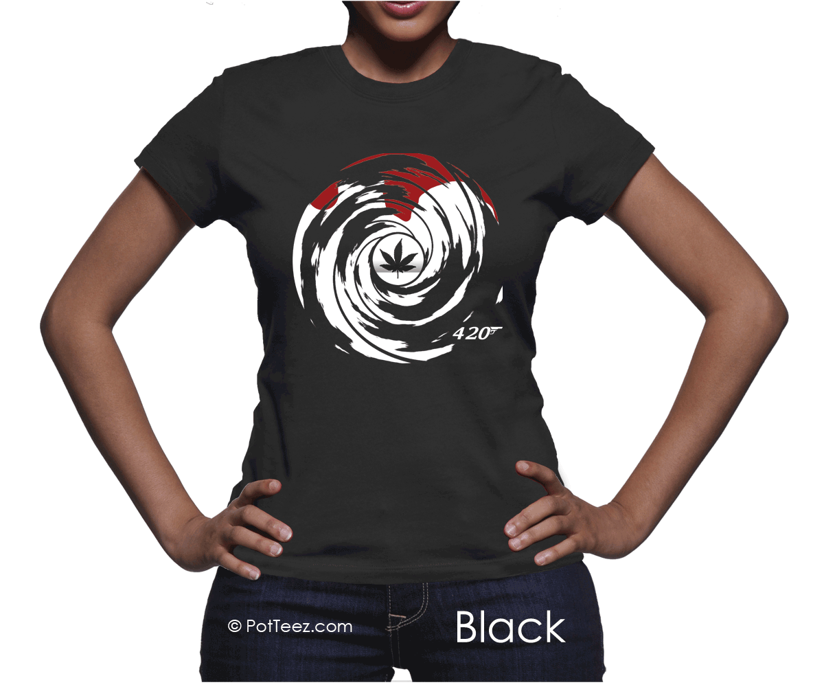 *James Bong 420 Women's T-Shirt