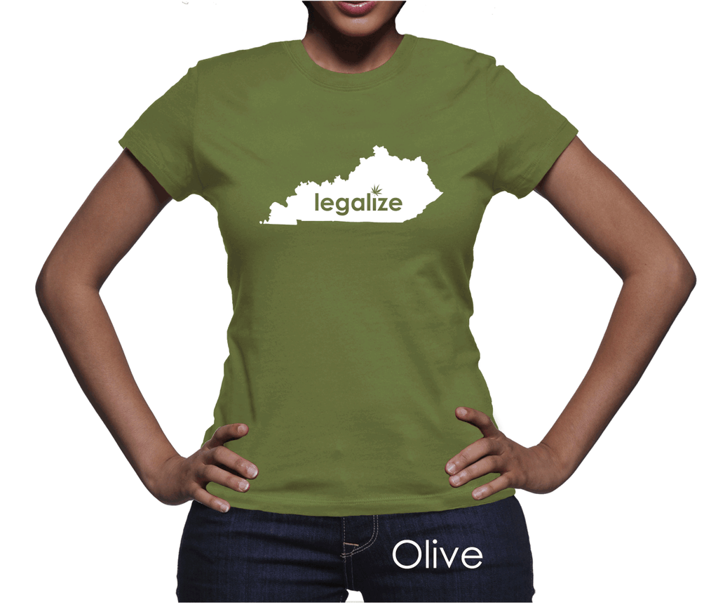 Kentucky Legalize Pot Women's T-Shirt