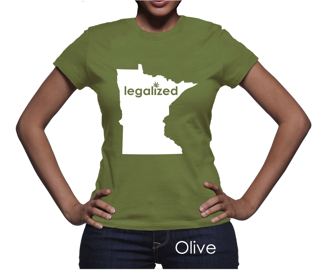 Minnesota Legalized Pot Women's T-Shirt