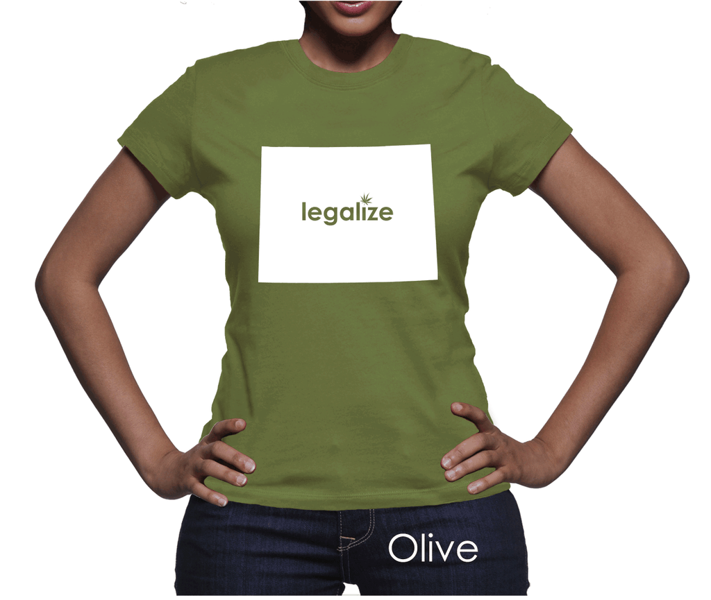 Wyoming Legalize Pot Women's T-Shirt
