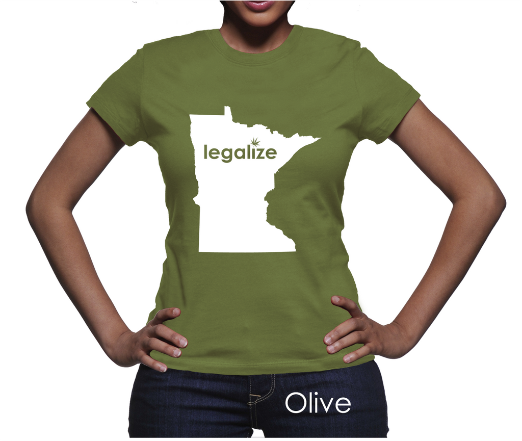 Minnesota Legalize Pot Women's T-Shirt