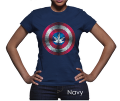 *Captain A-marijuana Women's T-Shirt