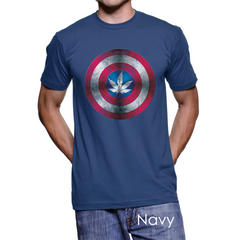 *Captain A-marijuana Men's T-Shirt