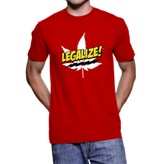 *Comic Legalize Pot Men's T-Shirt