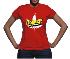 *Comic Legalize Pot Women's T-Shirt