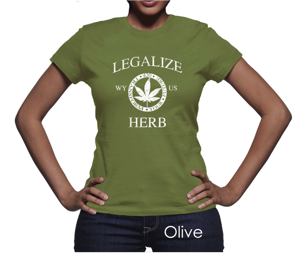 Wyoming Legalize Herb Women's T-Shirt