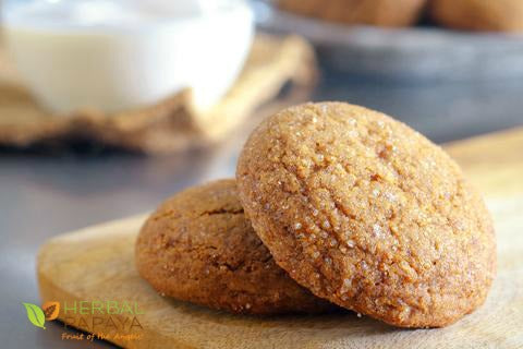 Gluten-Free Ginger-Papaya Snap Cookies