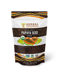 papaya seed powder herbal goodness