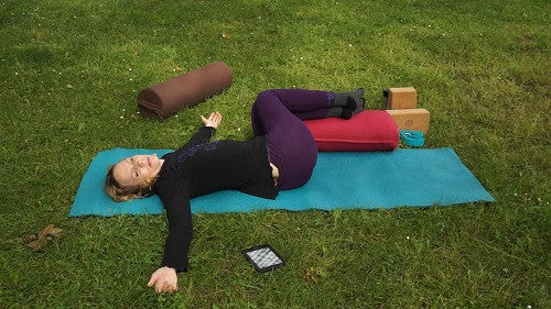 Reclined Spinal Twist (Supta Matsyendrasana)