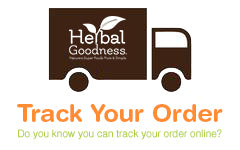 Herbal Goodness Track Your Order New Logo