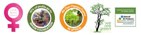 herbal papaya leaf extract helps support education for African girls