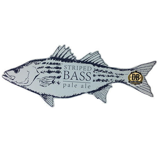 Devils Backbone Striped Bass Pale Ale Tin Tacker