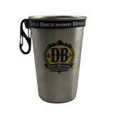 Devils Backbone Pint Ring With Carabiner - Black