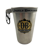 Devils Backbone Pint Ring With Carabiner - Grey
