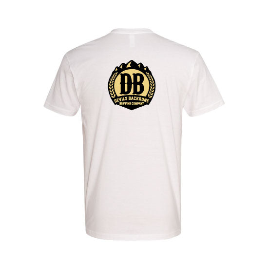 Devils Backbone Brewing Company T-shirt - Back View
