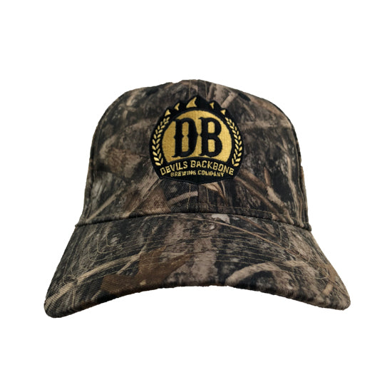 Devils Backbone True Timber Camo Hat - Front View