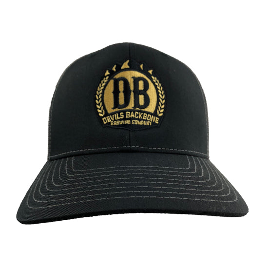 Devils Backbone Snapback Trucker Hat - Front View