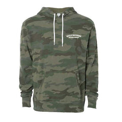 Devils Backbone Army Camo Hooded Sweatshirt - Front View