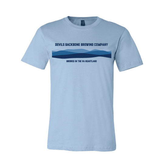 Devils Backbone Brewing Company Blue Ridge Mountains T-Shirt - Front View