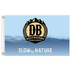 Devils Backbone 3' x 5' Single Sided Flag - Slow by Nature