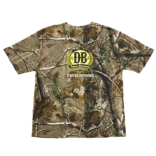 Devils Backbone Realtree Camo T-shirt - Back View
