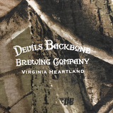 Devils Backbone Realtree Camo T-shirt - Close up Front View