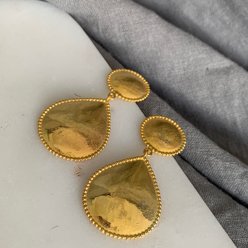 Gold Plated Colette Earrings