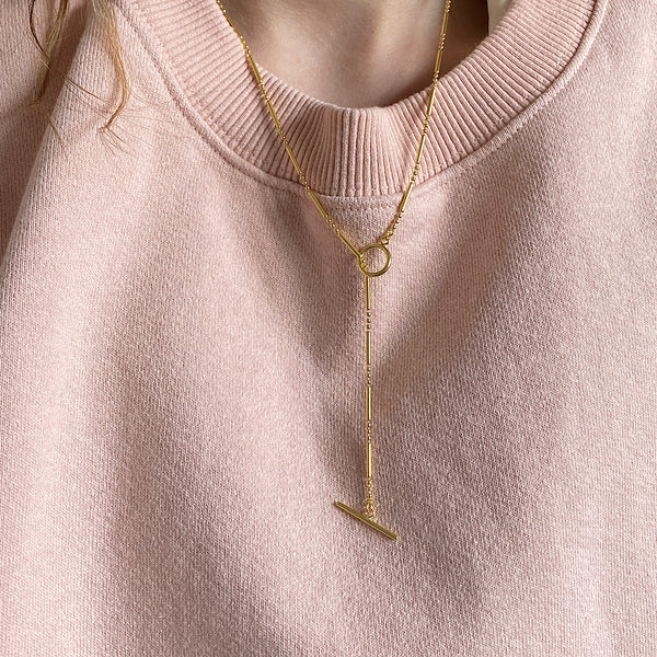 Gold Plated Elizabeth Necklace