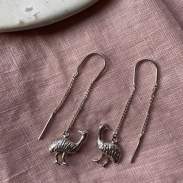 Emu Thread Earring