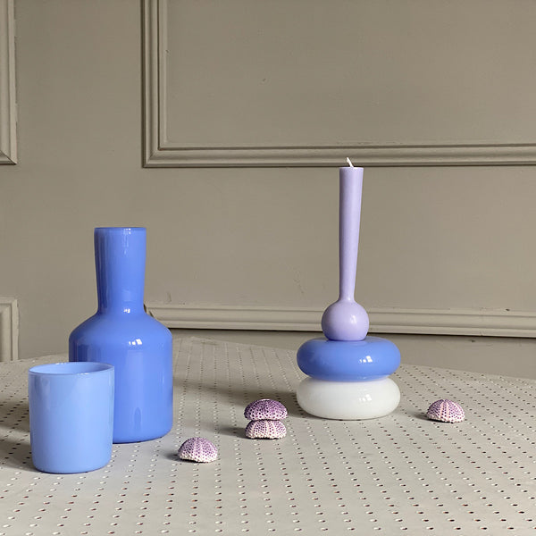 Grand Galet Candle Holder | Bleuet