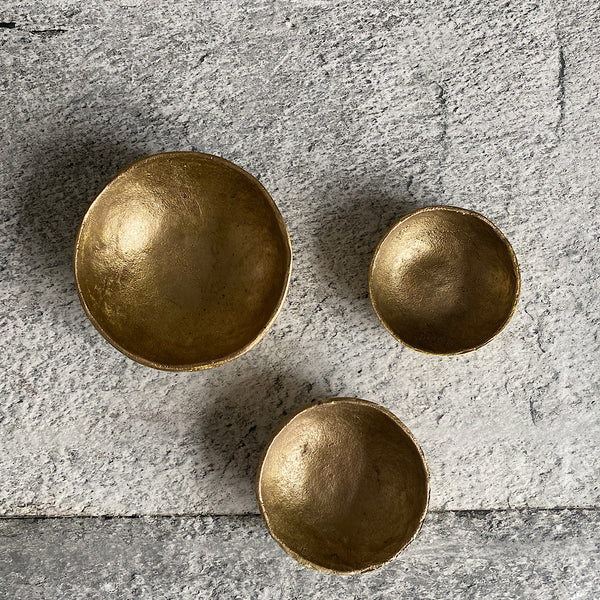 hand forged brass bowls made in india