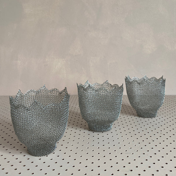 mesh candy bowl or pot