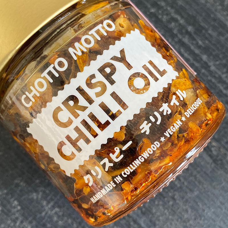 chotto motto melbourne crispy chilli oil