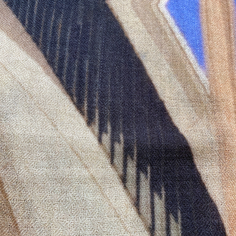 sydney opera house print cashmere scarf exclusive to jim & jane