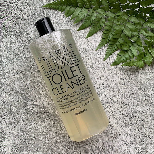 Planet Luxe's toilet cleaner