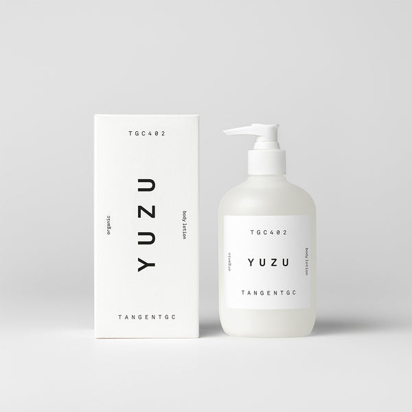 tangent gc organic body lotion with yuzu