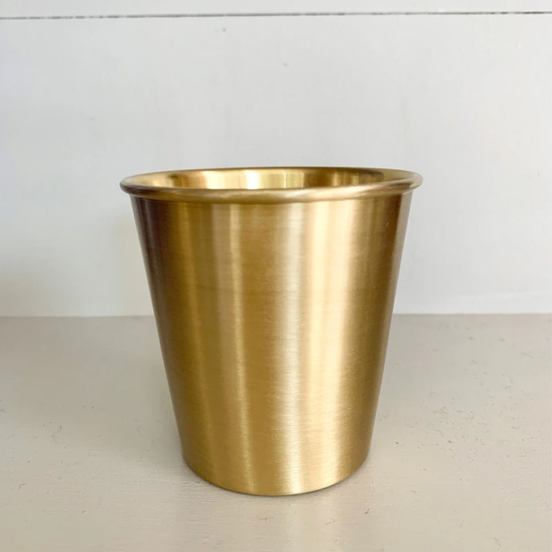 fog linen work brass cup