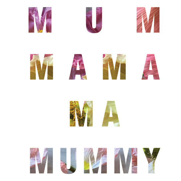 mama mother's day greeting card