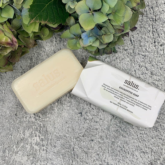 eucalyptus soap from Salus