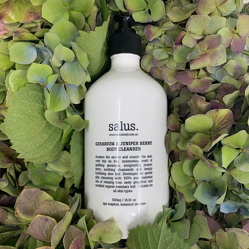 Geranium and Juniper Body Wash