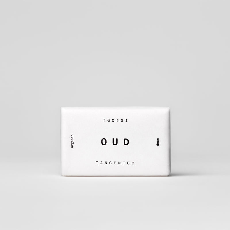 organic soap bar oud by tangent gc