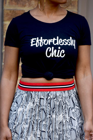 Effortlessly Chic Crew Tee