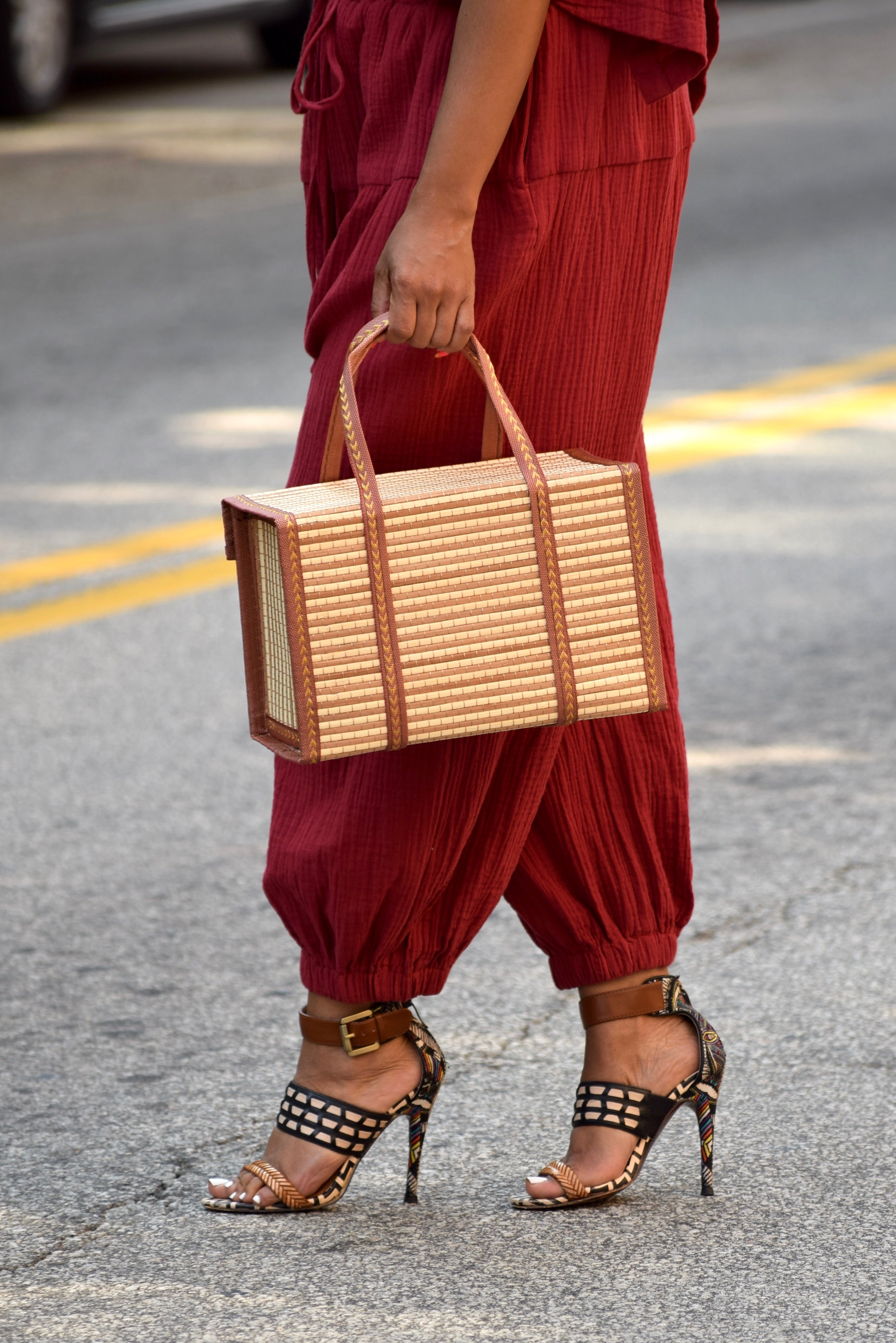 Bamboo Collapsible Tote