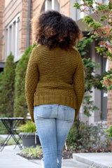 Large Cable Knit Sweater