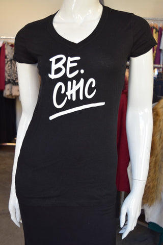 BE.Chic Vneck Tee