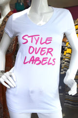 Style Over Labels -Pink