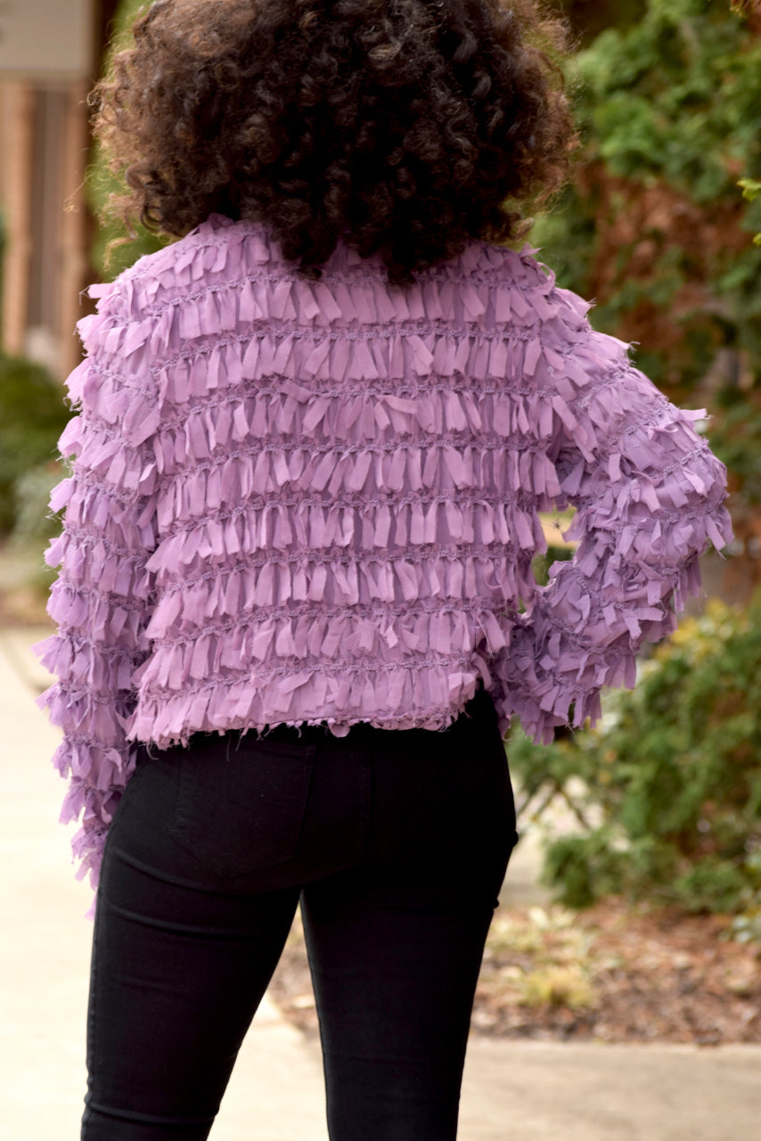 Shredded Ribbon Jacket